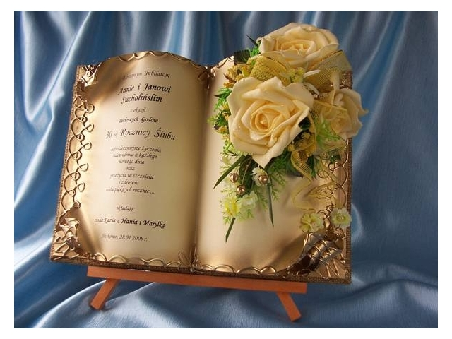 Pozostałe Rocznice Jubileusze ślubu Jubileusz Rocznica