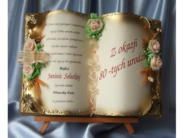 Skuro44 137 życzenia Na 80 Urodziny