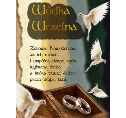 SK NAKLEJKA NA ŚLUB -23