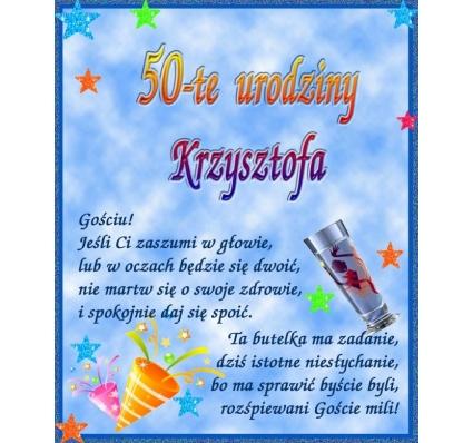 SK NAKLEJKA NA URODZINY- 2