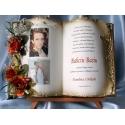 SKDB57-7 księga z życzeniami dla babci