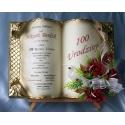 SKUSC-URO-4 Życzenia na 100 urodziny