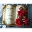 SKUSC-URO-12 Księga z życzeniami na 100 urodziny