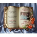 SKDB57-28 księga z życzeniami dla babci i dziadka