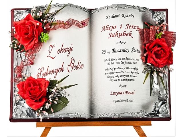 Skjub70 103 życzenia Na 25 Lecie ślubu