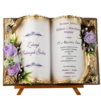 Skjub70 107 Wyjątkowy Prezent Na 25 Rocznicę ślubu Id 3480 25