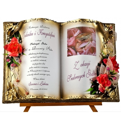 Skjub70 109 życzenia Z Okazji Srebrnych Godów