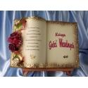 SKSKG47-16 księga gości weselnych