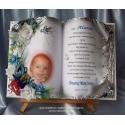 SKCH48-19 księga z życzeniami na chrzest