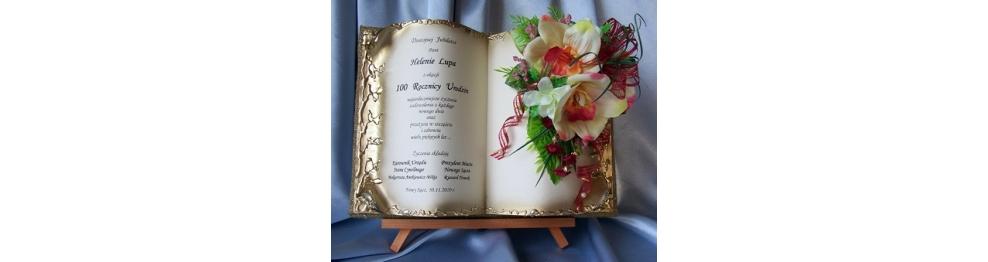 Księgi na urodziny