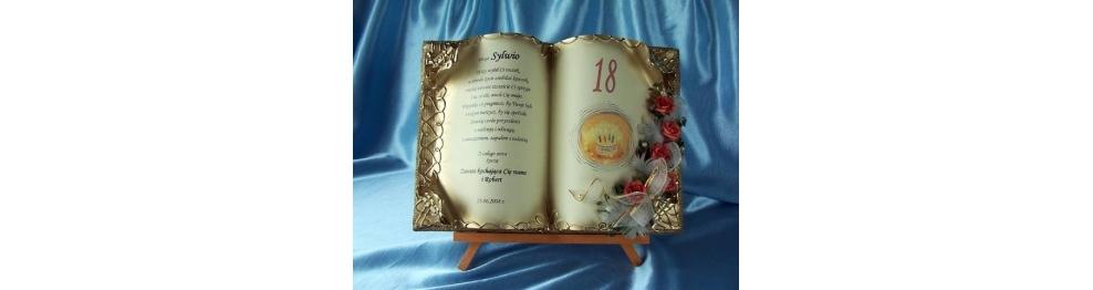 Osiemnaste urodziny prezent osiemnastka 18