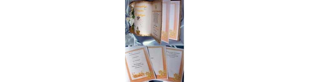 Księgi kartkowane na Chrzest z miejscem na dodatkowe wpisy