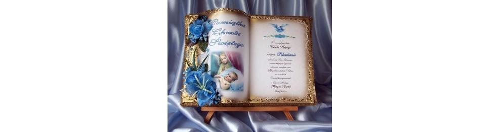 Księgi do wpisu gości