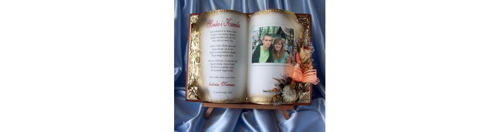 od Babci i Dziadka Pamiątka na Ślub