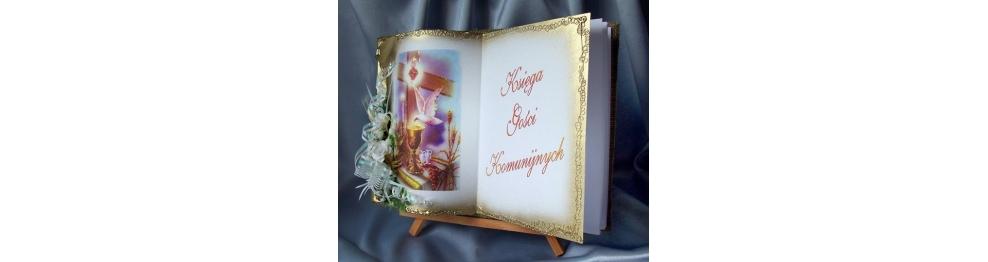 Księgi gości komunijnych