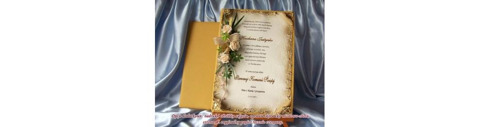 Dyplom- Pamiątka I Komunii Świętej